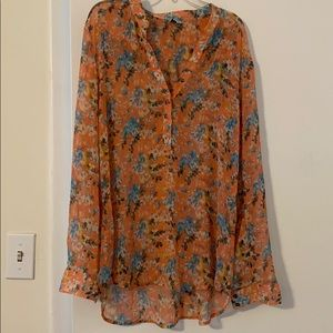 Kut from the Kloth floral blouse size Medium